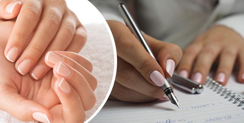 naglar som skivar sig vad göra