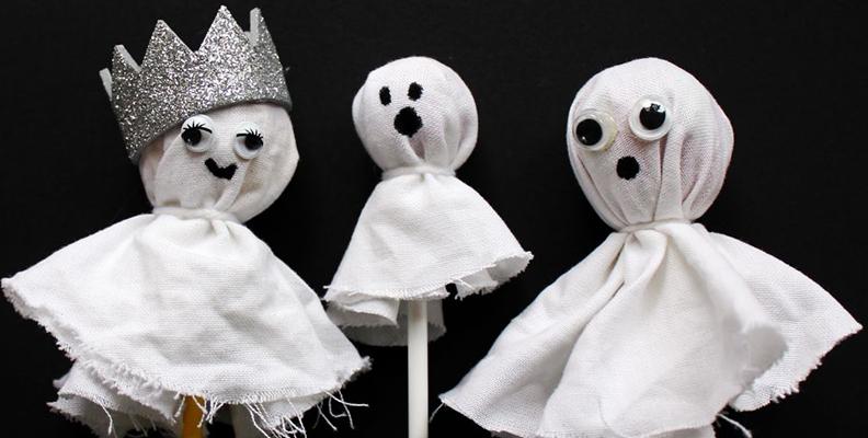 Kusligaste klubborna är lätta att pyssla ihop till Halloween
