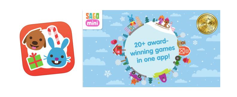 I Sago Mini World finns flera prisbelönta spel för barn