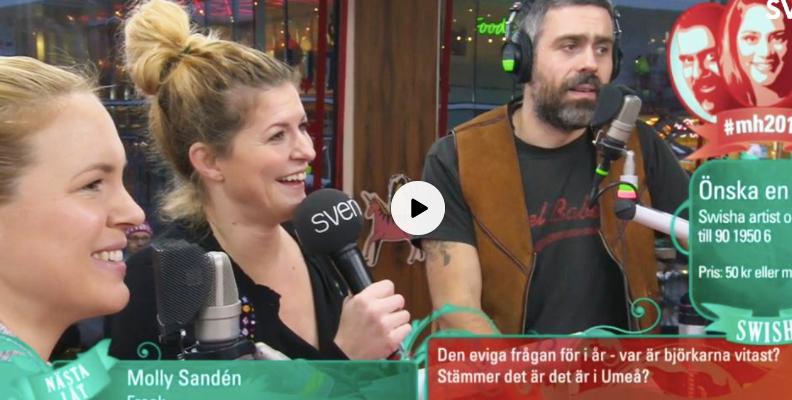 Filippa Rådin och Anja Pärson medverkar i Musikhjälpen 2017