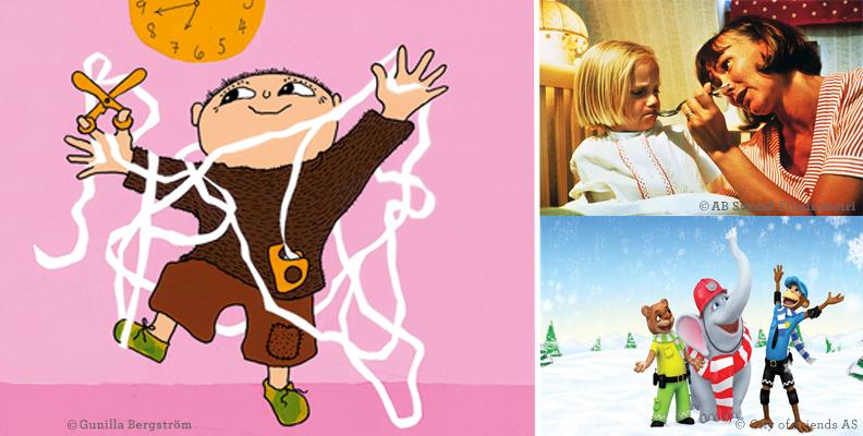 Alfons Åberg, Lotta på Bråkmakargatan och Stadens hjältar är bara några av de guldklimpar som finns på SF Kids Play