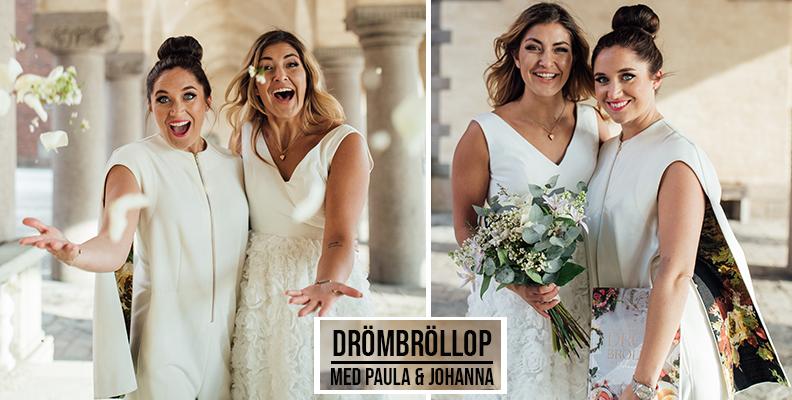 Ny bröllopspodd med Paula Uribe och Johanna Kajson