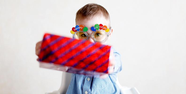 9 tips på present till barnkalas