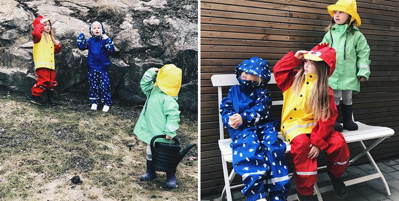 Vilka regnkläder är bäst i test?