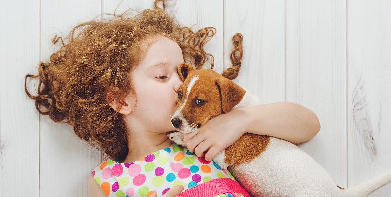 husdjur ökar inte barns välmående men har andra fördelar